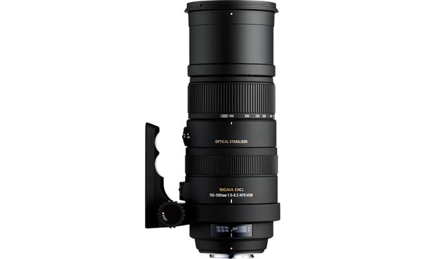 Sigma Photo 150-500mm f/5-6.3 Zoom Lens Front (Canon mount)