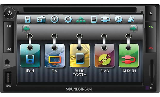 Soundstream VR-652NB Front