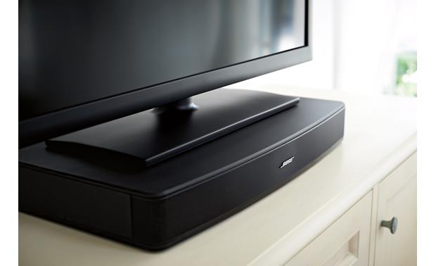Bose® Solo TV sound system Easy to fit almost anywhere your TV does