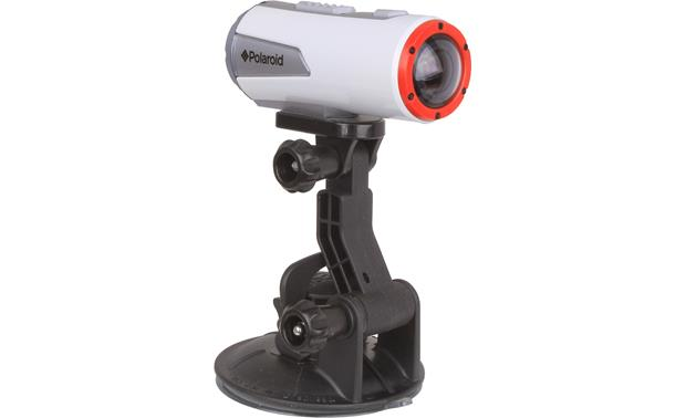 Polaroid XS100SCM Suction Cup Mount Front (shown with Polaroid sports action camera, not included)