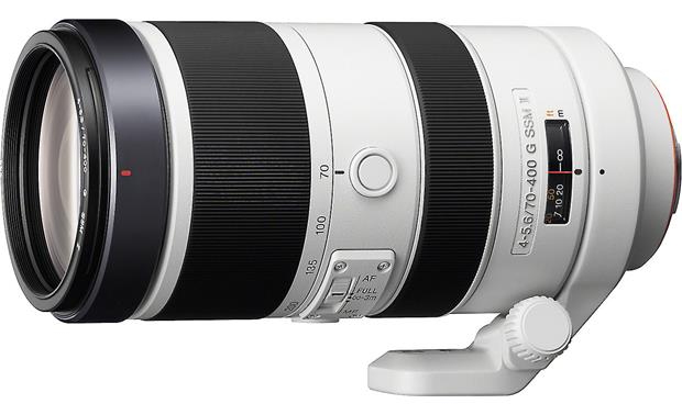 Sony SAL70400G2 70-400mm f/4-5.6 Lens Front