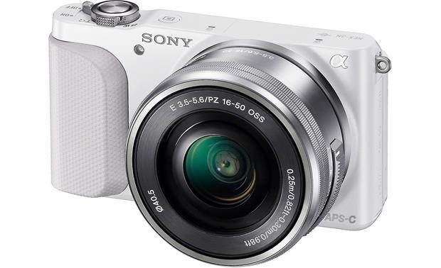 Sony Alpha NEX 3N Front White