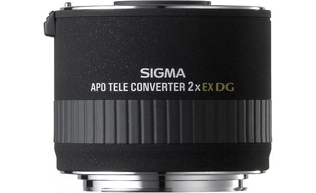 Sigma Photo 2.0X Teleconverter Front (Canon mount)