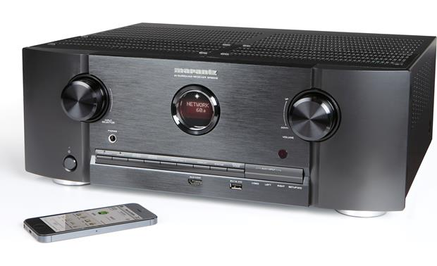 Marantz SR6008 Compatible with Marantz Remote app (iPhone not included)