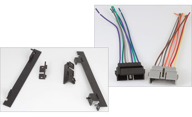 RetroSound 270-670 Installation Package The package includes the brackets and wiring harnesses for your compatible Dodge, Chrysler, or Plymouth vehicle