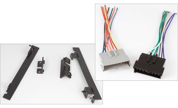RetroSound 270-680 Installation Package The package includes the brackets and wiring harnesses for your compatible Ford or Mercury vehicle