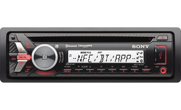 g158MEXM70B f_RED sony mex m70bt cd receiver for jeep, powersports, or marine  at soozxer.org