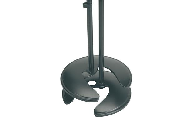 K&M Stackable Base Mic Stand Stackable design saves space
