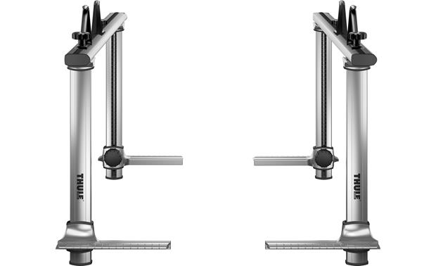 thule xsporter pro u2122 500xt adjustable aluminum truck rack at crutchfield com