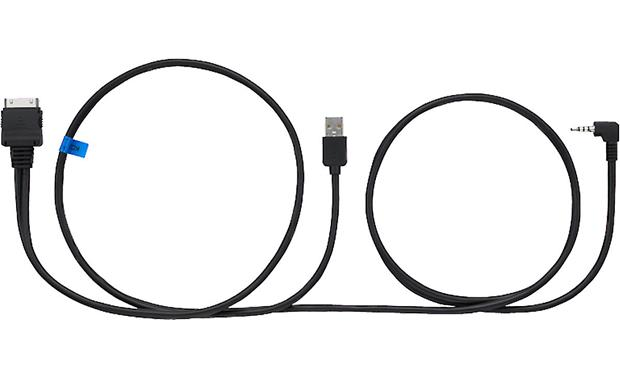 JVC KS-U59 iPod® Audio/Video Cable Connect your iPod or iPhone 4/4S to your compatible JVC receiver
