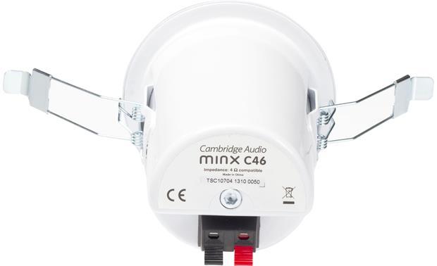 Cambridge Audio Minx C46 Shown with mounting clips extended