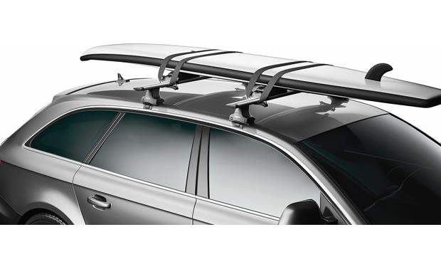 Thule SUP Shuttle Paddleboard Carrier 811 Mounting system fits most on board cart, carrier cart, collapsible dock cart, four paddlewheel cart, foldable kayak cart, skate cart, bike tow cart,