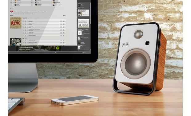Polk Audio Hampden free app available for iOS® and Android® (smartphone and computer not included)