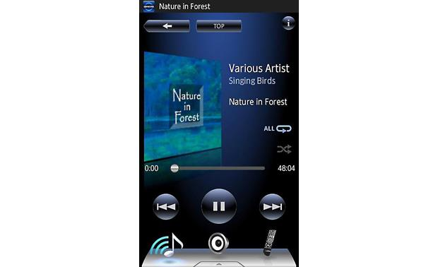 Onkyo TX-NR626 Onkyo's free remote app for Apple and Android