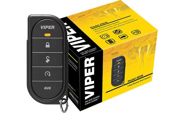 viper model 4606v 1 way remote start system with keyless entry at. Black Bedroom Furniture Sets. Home Design Ideas