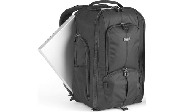 Think Tank Photo StreetWalker HardDrive Front, showing pocket for laptop (not included)