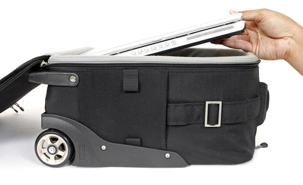 Think Tank Photo Airport AirStream™ Stash your tablet or laptop with your camera gear