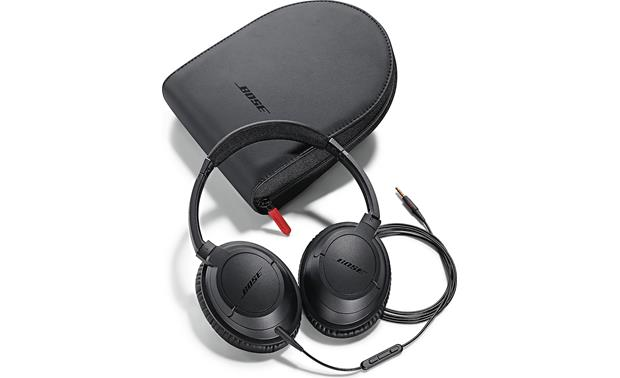 Bose® SoundTrue™ around-ear headphones Earcups fold flat for easy storage