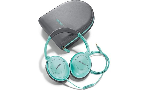 bose acirc reg soundtrue acirc cent around ear headphones mint in line remote boseacircreg soundtrueacirc132cent around ear headphones earcups fold flat for easy storage