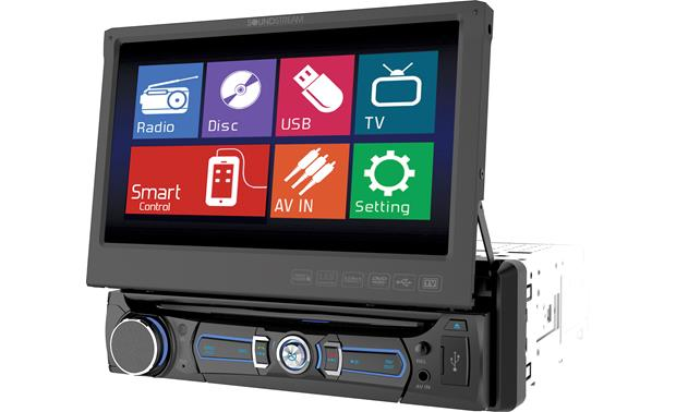 Soundstream VR-701 Enjoy touchscreen controls on a motorized retractable 7