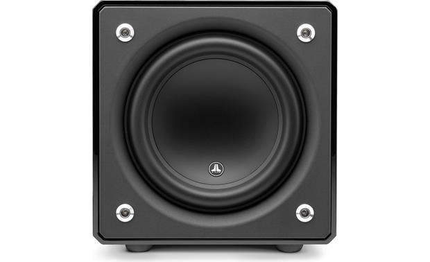 JL Audio E-Sub e110 Direct front view with grille removed