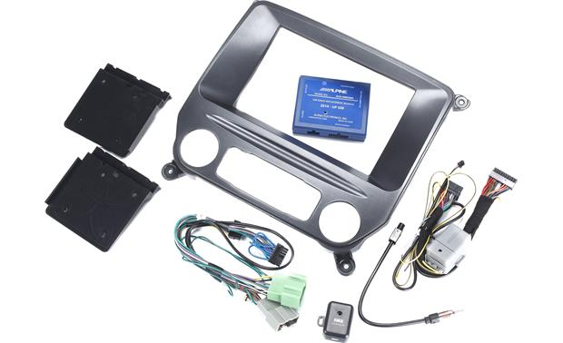 Alpine KTX-GM8K2 Restyle Dash and Wiring Kit Other