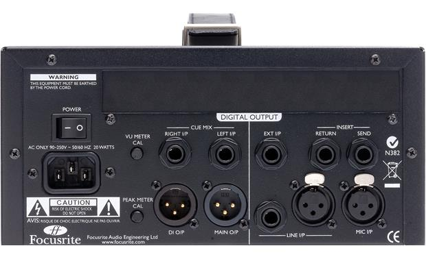Focusrite ISA ONE Back