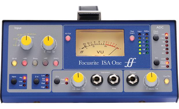 Focusrite ISA ONE Straight-on view