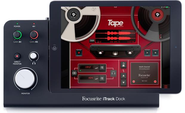 Focusrite iTrack Dock Front (iPad not included)
