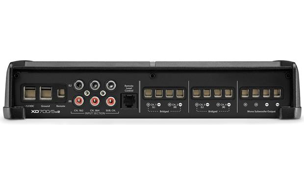 JL Audio XD700/5v2 Connection panel
