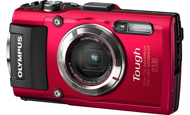 Olympus Tough Series TG-3 Front