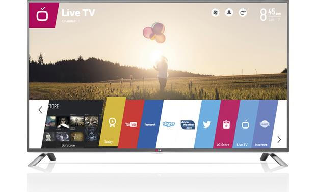 LG 60LB7100 User-friendly webOS interface