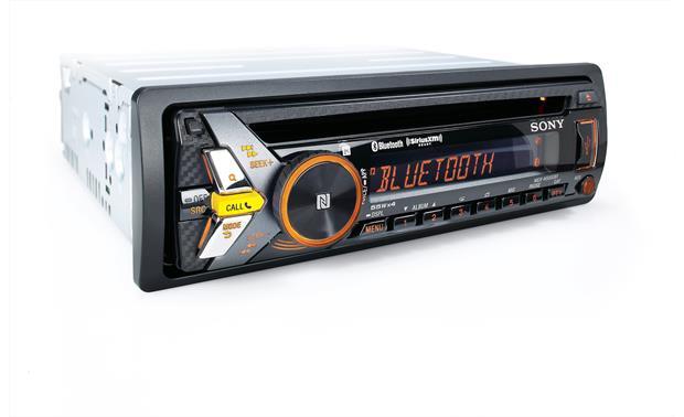 Sony MEX-N5000BT CD receiver at Crutchfield