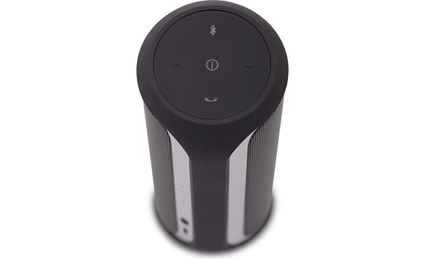 JBL Flip 2 Black - top view