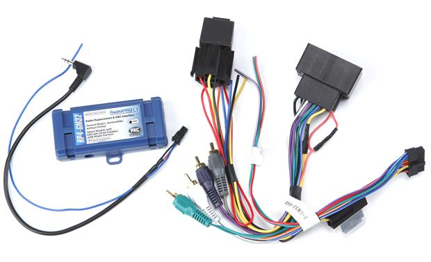 PAC RP4 GM32 Wiring Interface Connect a new car stereo and