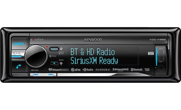 Kenwood Excelon KDC-X998 A mobile audiophile's dream single-DIN receiver