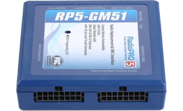 PAC RP5-GM51 Wiring Interface Other