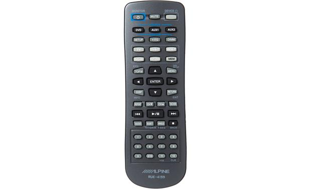 Alpine PKG-RSE3DVD Remote