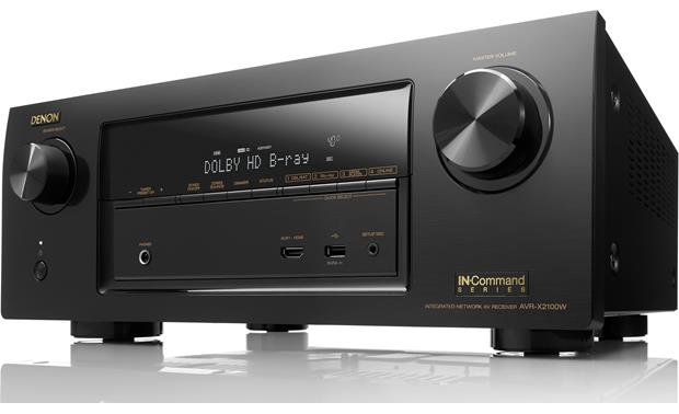 Denon AVR-X2100W IN-Command (2014 Model) Angled view