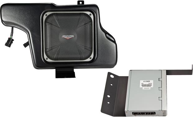 Kicker VSS™ Powerstage™ System Subwoofer and processor/amp