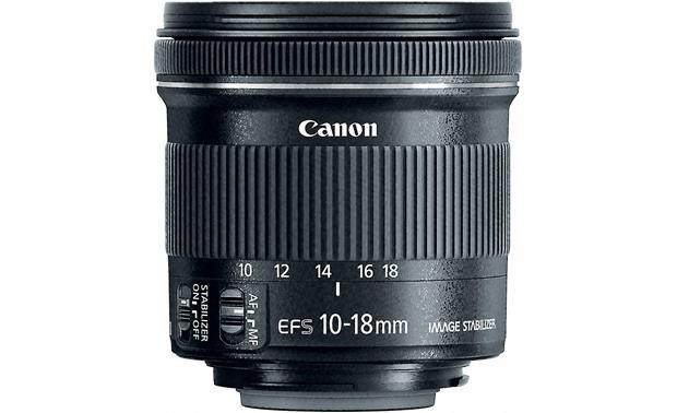 Canon EF-S 10-18mm f/4.5-5.6 IS STM Front