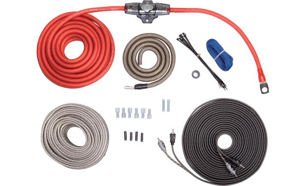 rockford fosgate rfk4x complete 4 gauge amplifier wiring kit rh crutchfield com 4 gauge wire connectors 4 gauge wiring marking