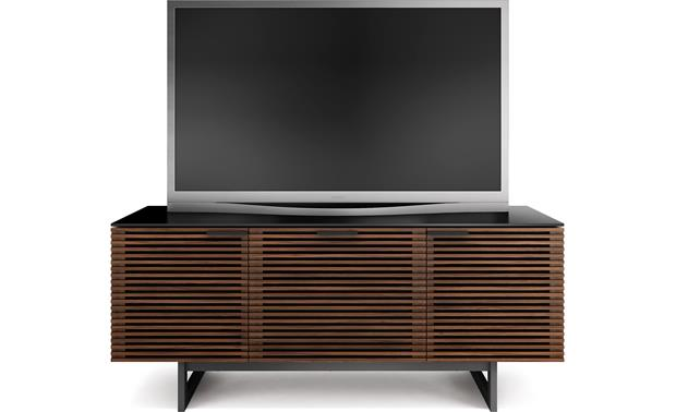 BDI Corridor 8177 Chocolate Stained Walnut (TV not included)