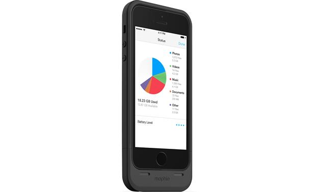 mophie space pack Black (iPhone not included)