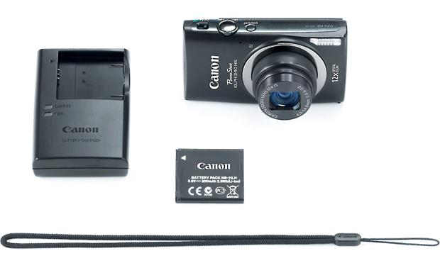 Canon PowerShot ELPH 340 HS With included accessories