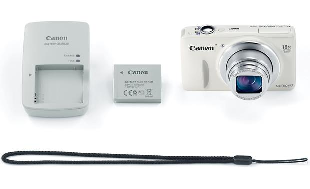 Canon PowerShot SX600 HS With included accessories