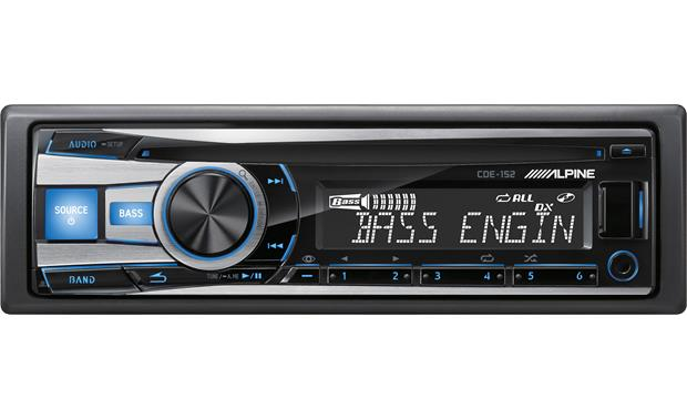 Alpine cde 152 cd receiver at crutchfield alpine cde 152 front sciox Images