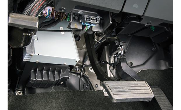 Kicker VSS PowerStage System Processor mounting position