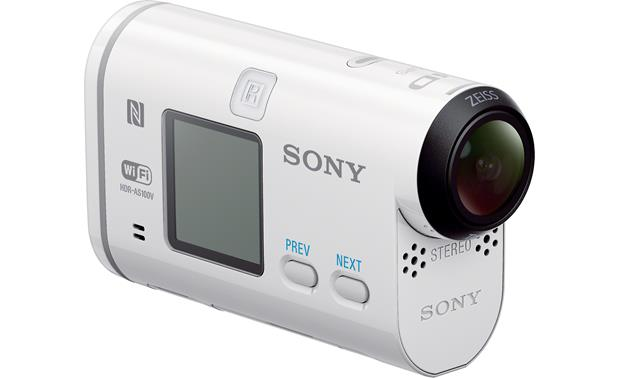 Sony HDR-AS100V/W Left side view