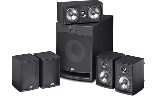PSB Alpha HT1 PSB Alpha HT1 home theater system package in Black Ash